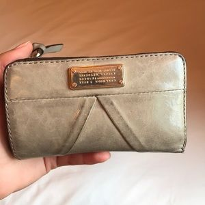 Gray Used Marc Jacobs Wallet